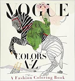 Amazon Vogue Colors A To Z A Fashion Coloring Book