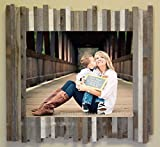 24x30 Beachcomber ''Shanty'' Reclaimed Wood / Barnwood Picture Frame INCLUDES PLEXIGLAS