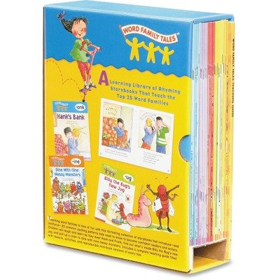 Scholastic 054506774X Word Family Tales Teaching Guide, Grades Pre K-2, Softcover, 16 Pages (Set of 25 Storybooks)