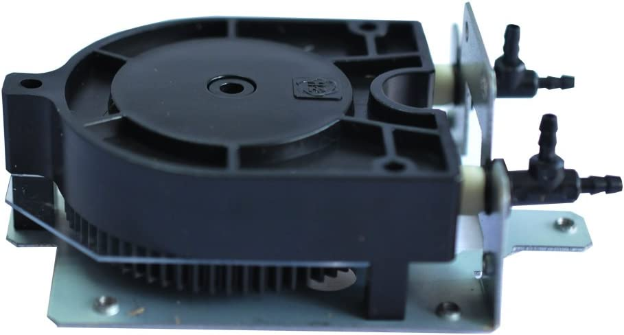 XC-540 POVOKICI Improved Solvent Resistant Ink Pump with Three-Way Tube Fitting for Roland XJ-540 RE-640