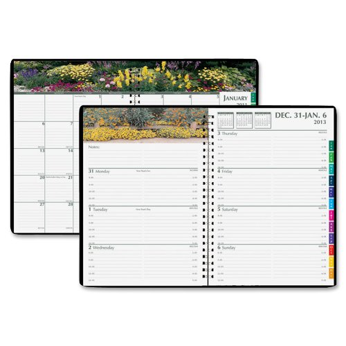 House of Doolittle Gardens of the World Weekly-Monthly Planner, January-December, 2013, 7