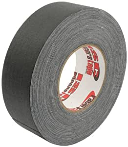"""Allstar Performance ALL14253 Ultra-Professional Grade GAFFER'S Tape, Matte Black - 2"""" x 55 Yards/165' (83% More Than Standard 30 Yard Roll), Premium 11.5 Mil Thickness - Made in the U.S.A."""