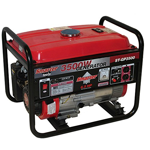 Gasoline Powered Portable Generator, 3500 W