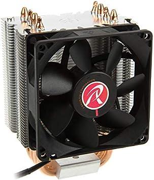 RAIJINTEK Aidos Procesador Enfriador - Ventilador de PC ...