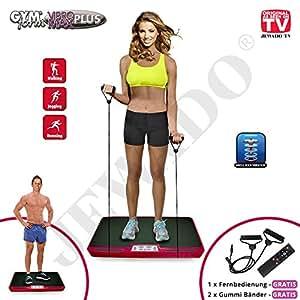 Industex Vibro Max Plus, placa de vibración y profesional de cuerpo ...