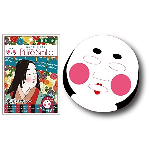 Pure Smile Japan Edo Face Mask Princess Collagen & Ha Mask w