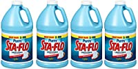 Sta-Flo DIA13101 Concentrated Liquid Starch, 64 Oz Bottle (4)
