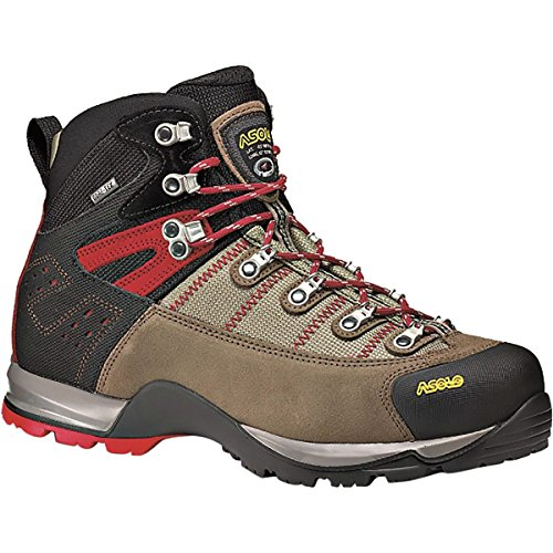 Asolo Men's Fugitive GTX Hiking Boots, Wool / Black, 14 2E US - Asolo Fugitive Gtx