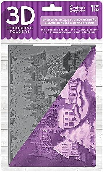 Home Kitchen Arts Crafts 5 X 7 Inch Gemini Christmas Carol 3d Embossing Folder Arts Crafts 247guardtraining Com