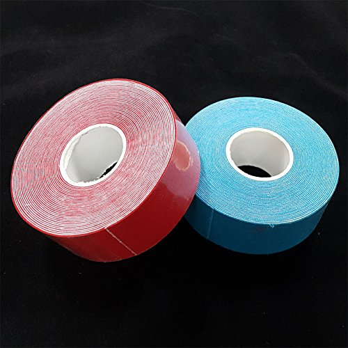 Bowling Protective Power Grip Tape Fitting Thumb Tape - Red & Blue - 2 rolls by HANARTS
