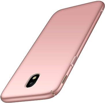 TXLING Funda Samsung Galaxy J3 2017 Carcasa [Ultra-Delgado] [Ligera] Anti-rasguños Estuche Ultra Slim Protectora Funda Case Duro Cover para Samsung Galaxy J3 2017: Amazon.es: Electrónica