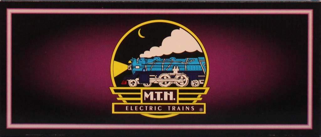 MTH 1:48 O Scale 2814R Reefer Car Christmas Train Model #10-8077