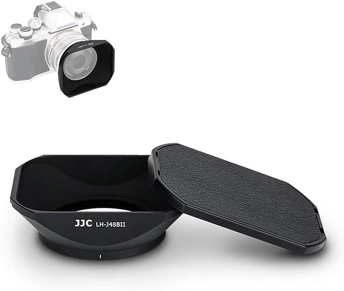 Jjc Gegenlichtblende Kappe Ersetzt Olympus Lh 48b Kamera