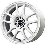 rims for 2014 jeep cherokee - Drag Wheels DR-31 18x8/ 5x100/ 5x114.3 et35 White Full rims