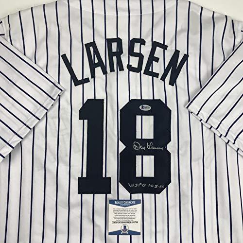 Autographed/Signed Don Larsen