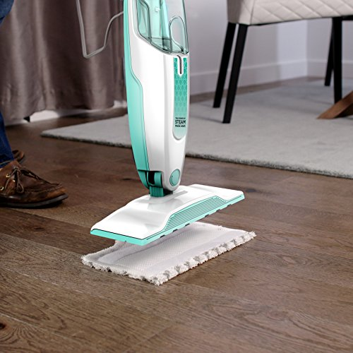 Shark Steam Mop Hard Floor Cleaner for Cleaning and Sanitizing with XL Removable Water Tank and 18-Foot Power Cord (S1000A)