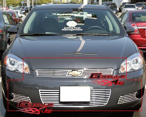 Fits 2006-2013 Impala /06-07 Monte Carlo Perimeter Grille Grill insert Combo # C97920A ()