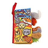 YOUDirect Soft Cloth Books - Soft Baby Funny Animal Tails Cloth Book, Early Learning Education Toddler Books Toy, Best Gift for Kids Babies (Puppy Tails)