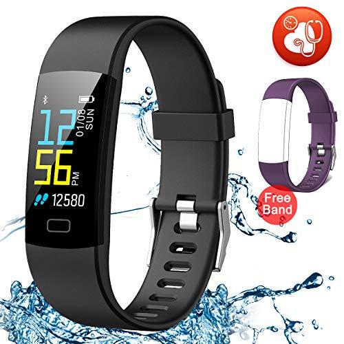 Juboury Fitness Tracker HR, Activity Tracker Watch Heart Rat