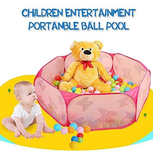 Kinderspielzelt Babyzelt Foldable Pop up Tent Spielhaus Baby ...