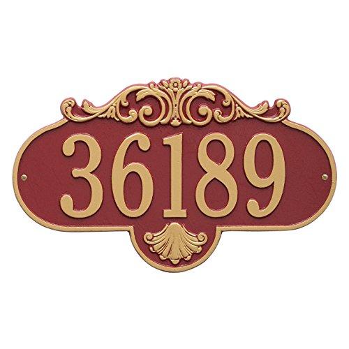 Rochelle Wall Plaque - Custom Rochelle Standard WALL 1 Line Address Plaque 16