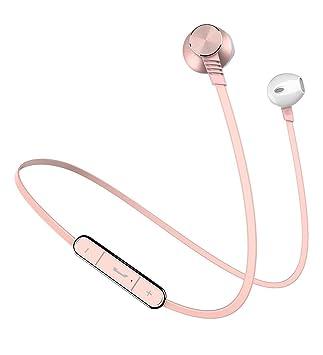 Auriculares Inalámbricos Bluetooth 4.1,Yinsili Auriculares Deportivos Bluetooth con micrófono y manos libres para iPhone