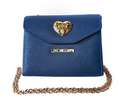 Love Moschino Umhängetasche/ Schultertasche, blau