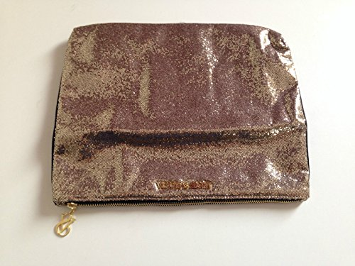 Secret Victoria's Gold Black Zipper Purse shimmer Clutch amp; Uvpvdq