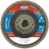 Zirconia Alumina 12000 rpm 4-1//2 7//8 7//8 60 Grit Weiler 804-50804 Big Cat High Density Type 27 Flat Flap Disc 4-1//2