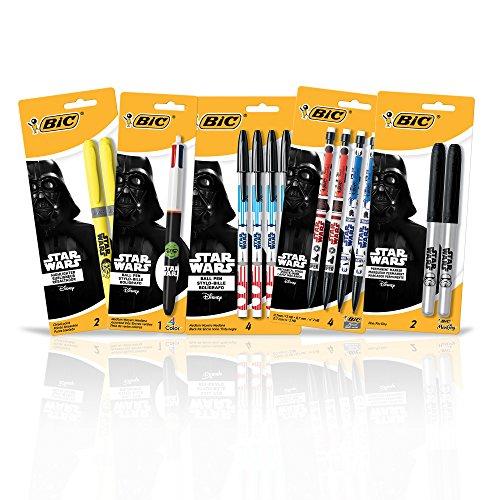 BIC Star Wars Themed Office Supplies Ballpoint Pen (WC7AZ731-A-AST)