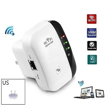 US WiFi Blast Wireless Repeater Wi-Fi Range Extender 300Mbps WifiBlast Amplifier