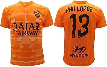 L.C. Sport srl Camiseta PAU Lopez Roma 2020 Oficial 2019 AS ...
