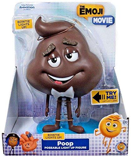 Just Play Emoji Movie Poop Daddy Articulated Figures
