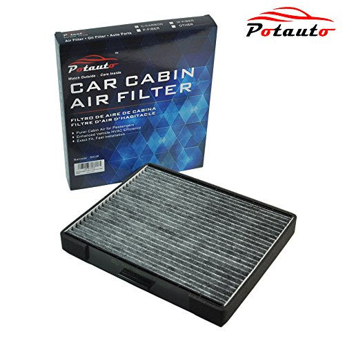 POTAUTO MAP 1051C Heavy Activated Carbon Car Cabin Air Filter Replacement compatible with HYUNDAI, Elantra, Tiburon, Entourage, KIA, Sedona