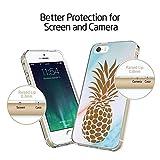 iPhone SE Case, LAACO Beautiful Clear TPU Case