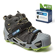 STABILicers HIKE XP, Made in USA, High Performance Snow and Ice Traction Cleats for Shoes and Boots, 25 Replacement Cleats Included