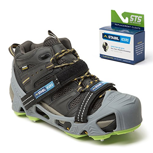 STABILicers HIKE XP, Made in USA, High Performance Snow and Ice Traction  Cleats for