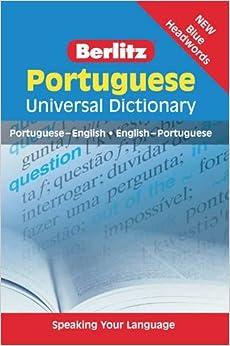 Berlitz: Portuguese Universal Dictionary (Berlitz Universal Dictionary)