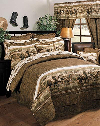 Kimlor Wild Horses Bed in a Bag Set, Full