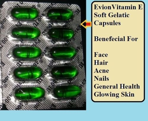 Vitamin E Capsule For Skin Care