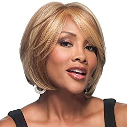 Vivica A. Fox LENI-V New Futura Fiber, HAND-MADE, PS Cap Wig in Color FS1B27 by Vivica A. Fox