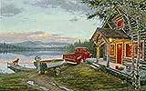 "Darrell Bush Limited Edition Canvas: ""cabin"