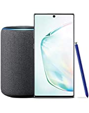 $1099 » Samsung Galaxy Note 10+ Plus Factory Unlocked Phone with 256GB (U.S. Warranty), Aura Silver with Echo Plus (2nd Gen) - Premium Sound with Built-in Smart Home hub - Charcoal