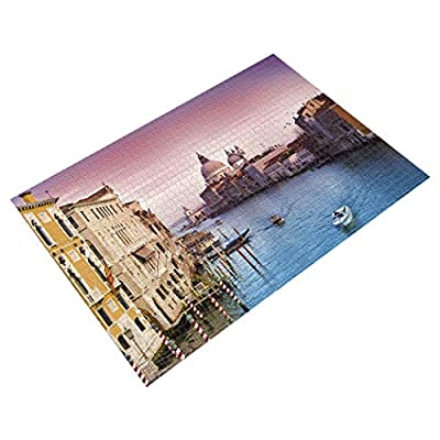 Becko Jigsaw Puzzle Venice City View - 1000 Pieces: Toys & Games