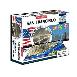4d Cityscape Time Puzzle San Francisco