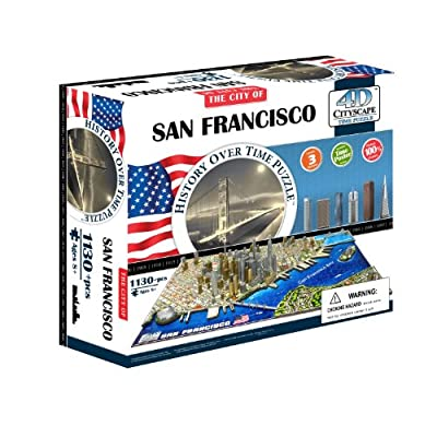4d Cityscape Time Puzzle San Francisco