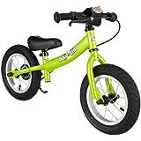 Bikestar 12 inch (30.5cm) Kids Balance Bike / Kids Running Bike - Sport - Green