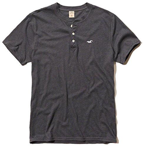 hollister-mens-graphic-logo-tee-t-shirt-medium-gray-henley