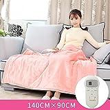 GX&XD Heated electric blanket,Heated blanket Knee blanket Warm blanket office Electric throw Plush heated throw-K