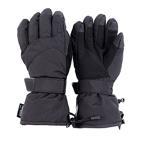 Foritone Thinsulate Windproof and Warm Outdoor Gloves,Waterproof Mutli-Purpose Gloves for Motorbiking,Riding, Cycling, Driving, Tactical, Hunting,Ski Gloves (M)